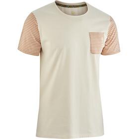 Edelrid Angama Kortærmet T-shirt Herrer beige